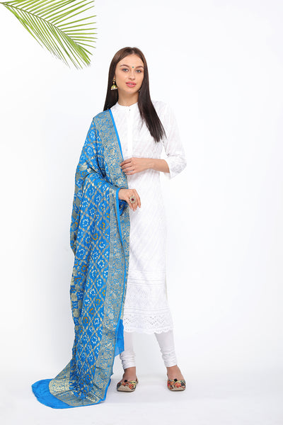 Diamond Pattern Banarasi - The Pashm