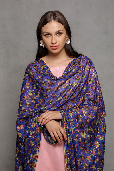Phulkari Dupatta - The Pashm