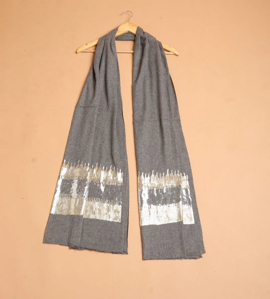 Two Color Sequin Wrap - The Pashm