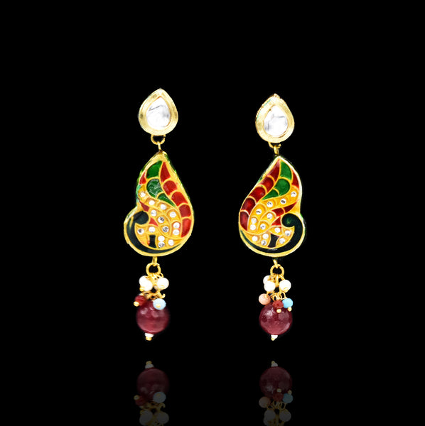 Mandira Lac Beaded Set - The Pashm