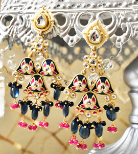 Zohrah Meena Earrings - The Pashm