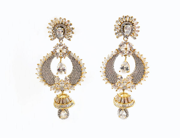 Elayne CZ Earrings - The Pashm
