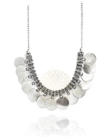 Kiana Multi Disc Necklace