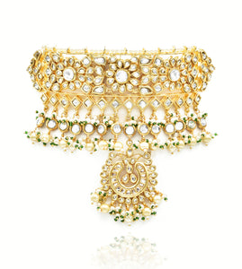 Salma Kundan Choker Set - The Pashm