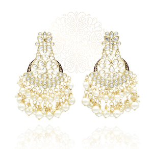 Nausheen Kundan Earrings - The Pashm