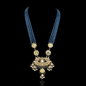 Prachi Kundan Necklace Set - The Pashm
