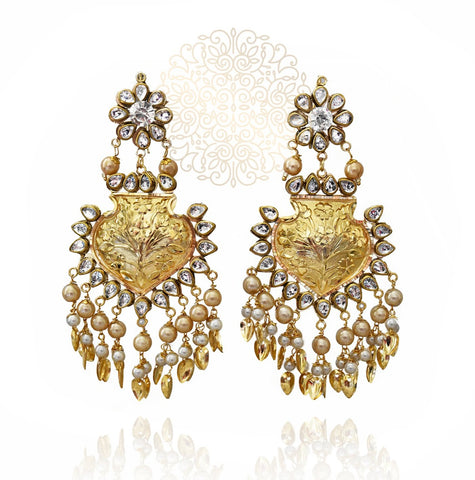 Nylaah Earrings and Tikka Set - The Pashm