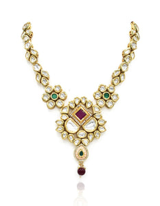 Jameela Kundan Set - The Pashm