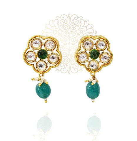 Rabia Kundan Earrings - The Pashm
