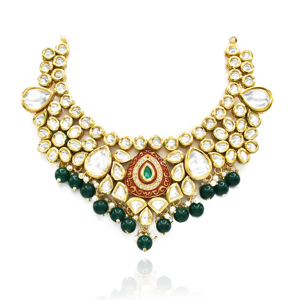 Aziza Kundan Set - The Pashm