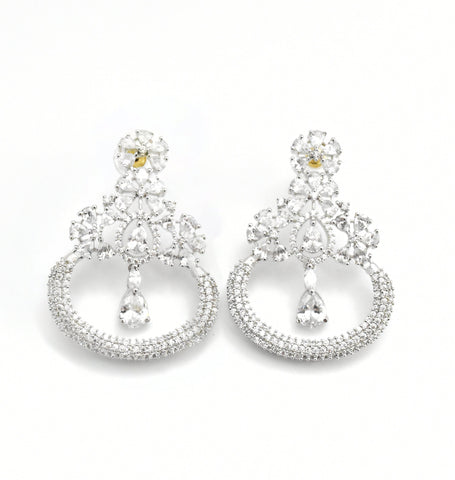 Celine CZ Earrings - The Pashm
