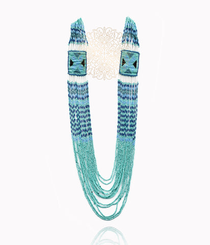 Tamara Boho Beaded Necklace