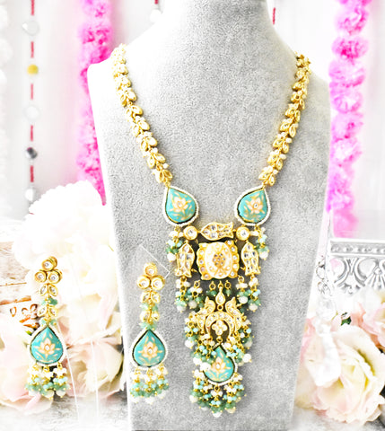 Zeba Kundan Haar Set - The Pashm
