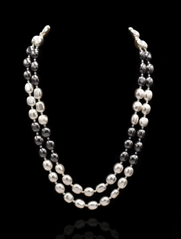 Zariah Pearl Necklace - The Pashm