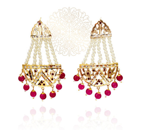 Najma Jadau Earrings - The Pashm