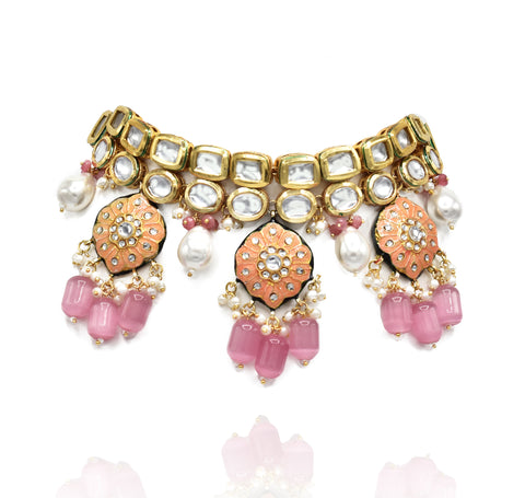 Zara Lac Choker Set - The Pashm