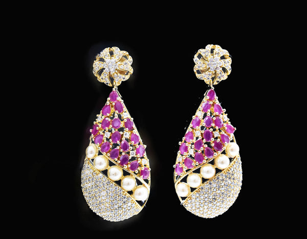 Aline CZ Earrings - The Pashm