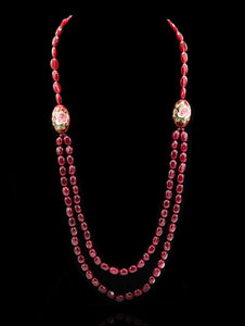 Aubrey Hydro Ruby Necklace - The Pashm
