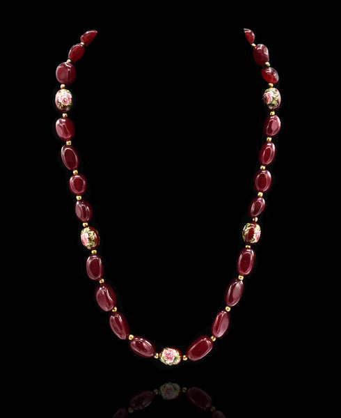 Riley Stone Bead Necklace - The Pashm