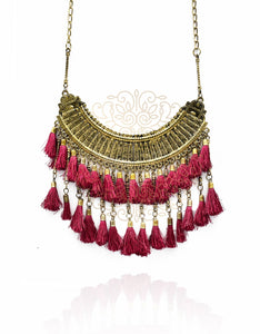 Eulalia Boho Tassel Necklace - The Pashm