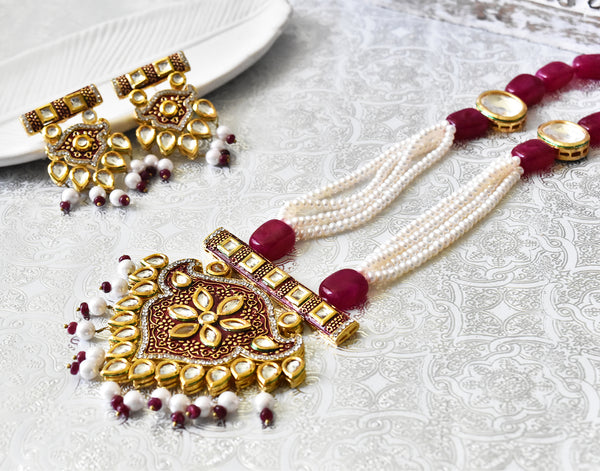 Padmini Pearl Set