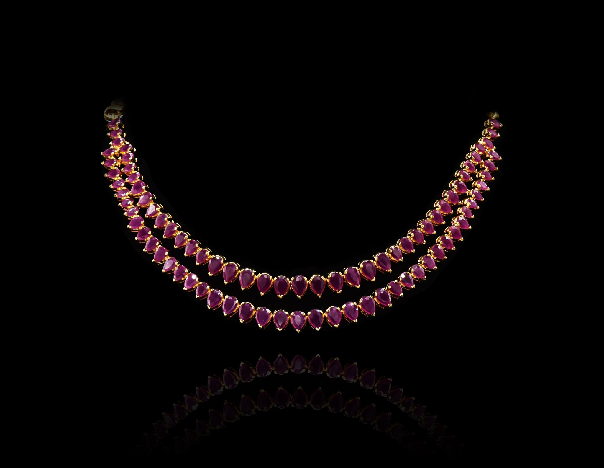 Kennedy Hydro Ruby Necklace - The Pashm