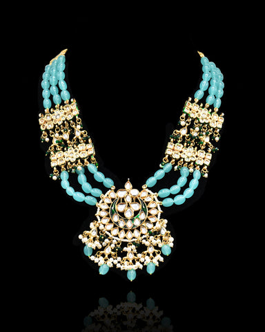Salma Kundan Necklace - The Pashm