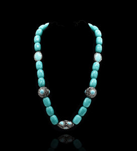 Adley Stone Beads Necklace - The Pashm