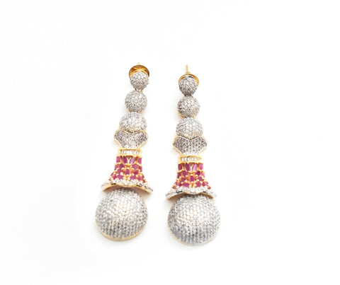 Belle CZ Earrings - The Pashm