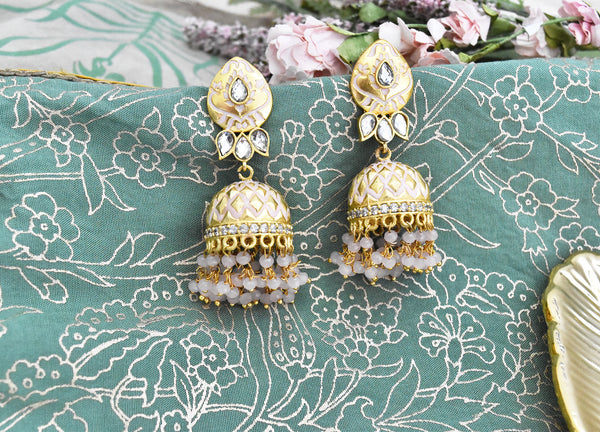 Rimsha Meena Traditional Earrings - The Pashm