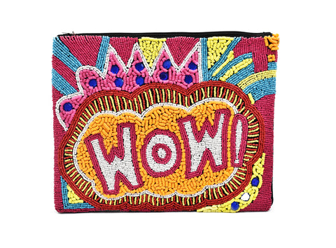 Wow Bead Pouch Bag