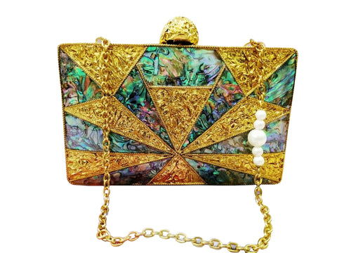 Mother of Pearl Bag - The Pashm