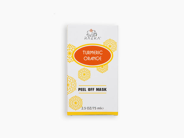 Turmeric Orange Peel Off Mask