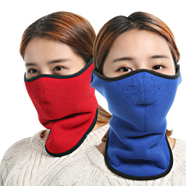Oneoney 1pc Winter Warm Cycling Riding Mask Mouth Nose Ear Neck Protector Warmer Outdoor Cold Production Man Woman Office School