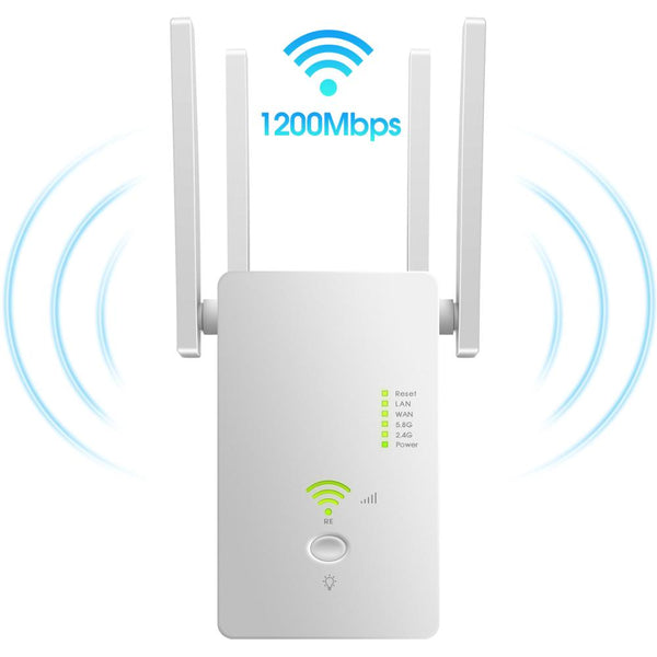 5Ghz WiFi Repeater Dual Band 2.4G& 5G Wireless Wifi Extender 1200Mbps Wi-Fi Amplifier wireless Access Point