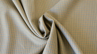REMNANT 0.35 x 1.40m - WOOL SUITING FABRIC - Small houndstooth design