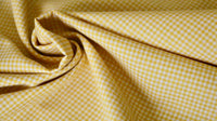 polycotton-fabric-poplin-yellow-and-off-white-gingham-design-clothcontrol