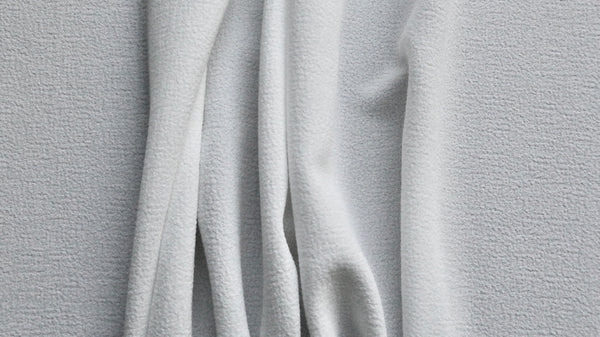 CREPE FABRIC - Off white colour - 2 way give