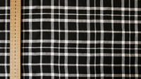 synthetic-lawn-fabric-black-and-white-check-design-clothcontrol