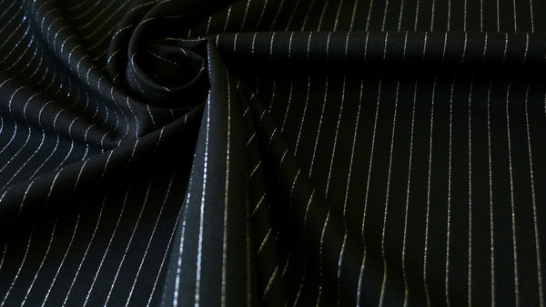 bio-stretch-fabric-black-and-silver-pinstripe-design-clothcontrol