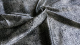 STRETCHY SATIN FABRIC- Abstract animal print design - Shiny - 2 way stretch