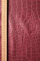 faux-leatherette-fabric-crocodile-skin-design-maroon-colour-clothcontrol