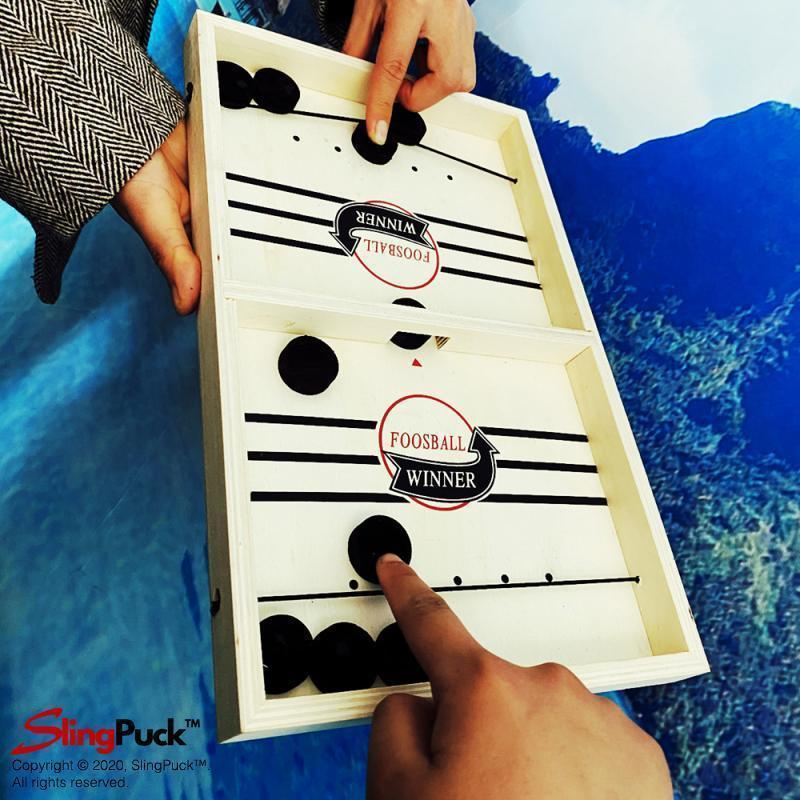 Fast SlingPuck™ - Your #1 Board Game To Play With Friends & Family SlingPuck™