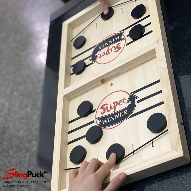 Official Fast Sling Puck Board Game - SlingPuck™