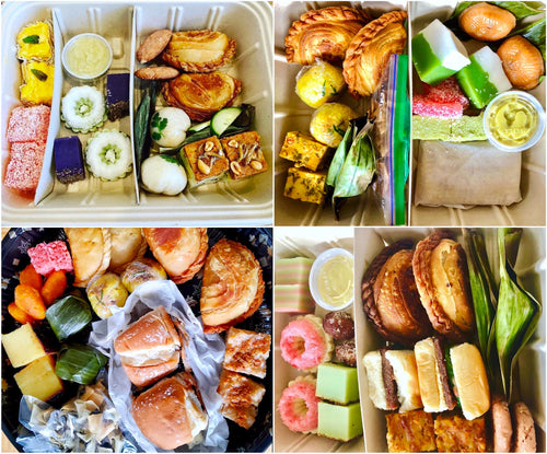 SF DELIVERY: July Malaysian Snack Trays