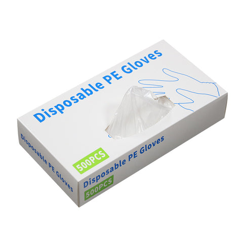 Box of 500 disposable gloves