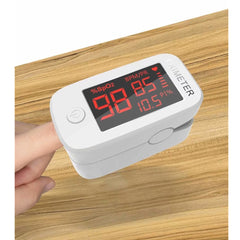 Portable Fingertip Pulse Oximeter, Blood Oxygen Saturation Monitor,