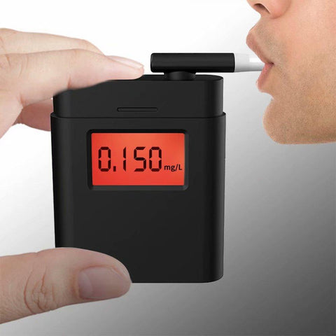 Professional Level Precision Portable Alcohol Breath Analyzer