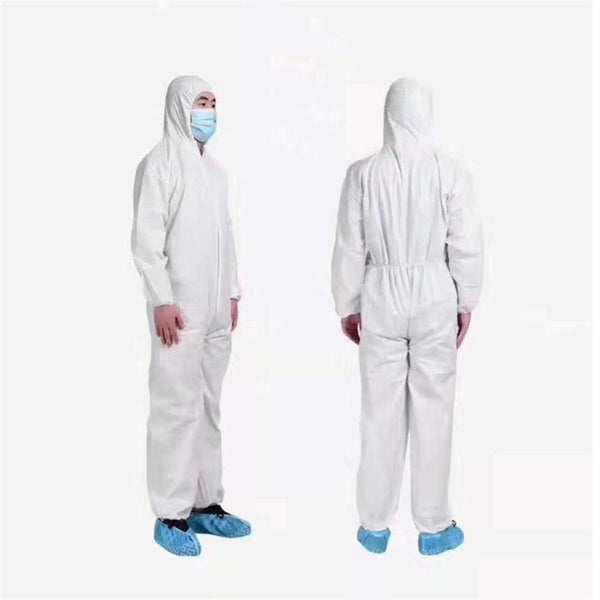 Disposable Overall Protective Suit Medical Antivirus Conjoined Professional Set