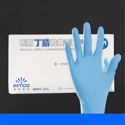 Medical Disposable Anti-virus Rubber Gloves